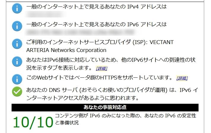 IPv6テスト